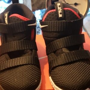 Lil boy or girls sneakers..LEBRON'S